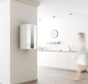 Home gas boiler