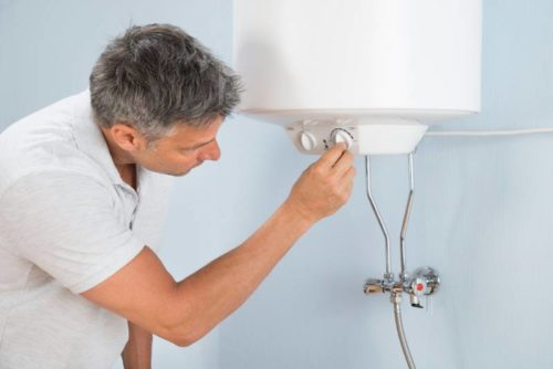 Changing settings on your electric boiler