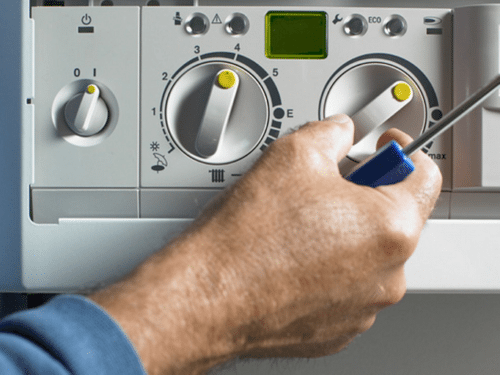 Adjusting boiler settings after a boiler replacement