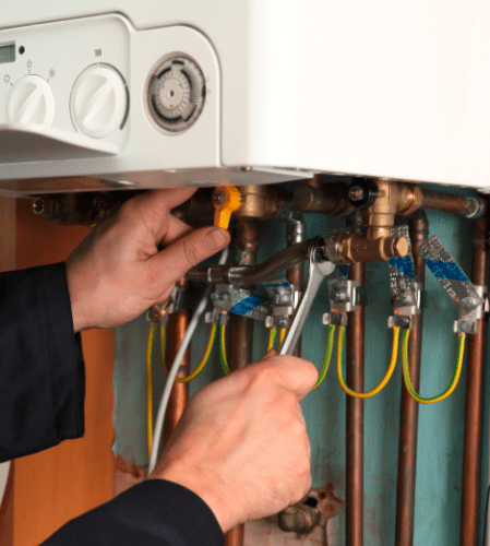 Calling for an annual service will help with boiler maintenance