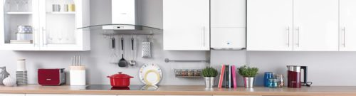 Combi boiler prices; combi inside kitchen