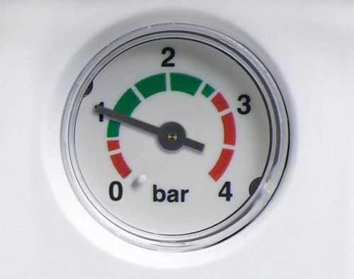 Checking the pressure of your heating system's pressure is important for boiler care