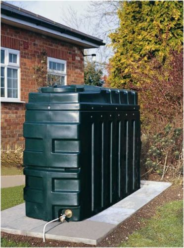 External bunded oil tank