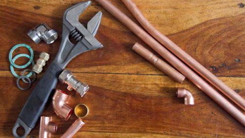 Gas boiler service tools and parts